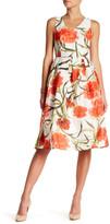 Ark & Co Floral Print Organza Dress