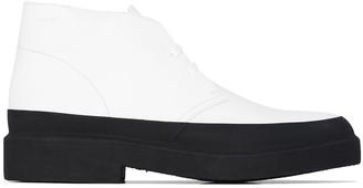 Clarks Galosh leather desert boots