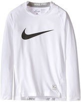 Nike Cool HBR Comp Long Sleeve (Little Kids/Big Kids)