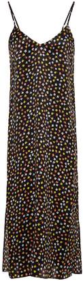 ATM Anthony Thomas Melillo Floral-print Silk Crepe De Chine Slip Dress