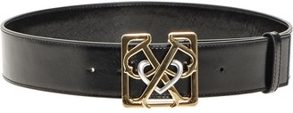 Pinko Double Logo Plaque Belt