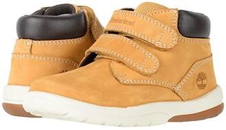 Timberland Kids Tracks HL Boot (Toddler/Little Kid) (Wheat Nubuck) Kids Shoes