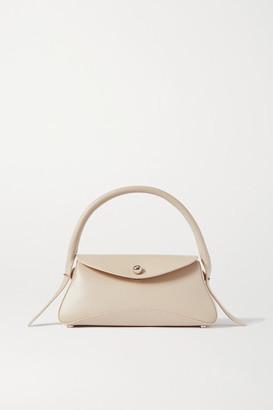 Ratio et Motus Cosmo Leather Shoulder Bag - Ivory