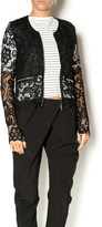 Double Zero doublezero Lace Jacket