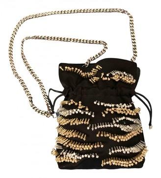 Les Petits Joueurs Black Leather Handbags