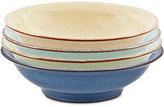Denby Heritage Collection 4-Pc. Shallow Bowl Set