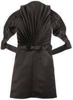 Maison Margiela pleated front backless blouse - women - Polyester/Viscose/glass - 40