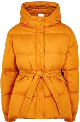 Samsoe & Samsoe Samse & Samse Asmine Mustard Shell Puffer Jacket