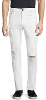 True Religion Darted Rocco No Flap Skinny Fit Jeans