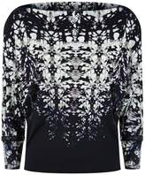 Roberto Cavalli Burnt Shells Print Top