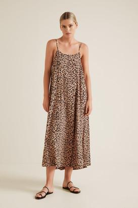 Seed Heritage Ocelot Midi Dress