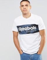 Reebok Spray Camo T-Shirt In White AY1159