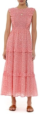 Banjanan Ruffled Midi Dress