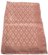 Valentino Pouder Silk Scarf