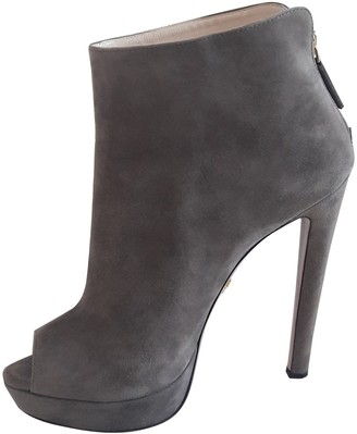 Prada Other Suede Ankle boots