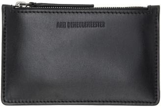 Ann Demeulemeester Black Barcis Zip Wallet