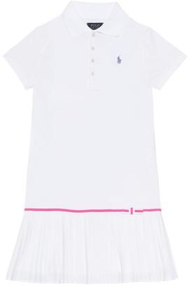 Polo Ralph Lauren Kids Cotton polo shirt dress