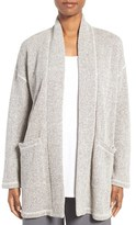 Eileen Fisher Women's Twisted Terry Organic Cotton Jacket
