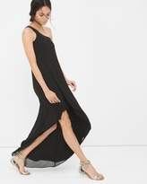 White House Black Market One-Shoulder Asymmetric Dress