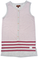 7 For All Mankind Rose Wine Stripe Tank - Toddler & Girls