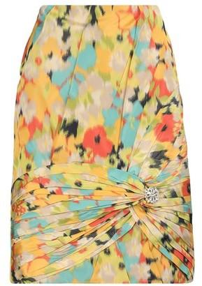 Calvin Klein Silk midi skirt
