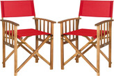 Safavieh Laguna Set Of Two Director Chairs
