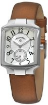 Philip Stein Teslar Women's 21-FMOP-IBZ Classic Bronze Silk on Leather Strap Watch