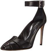 Sebastian Women's Glossy Ankle Strap Dress Pump