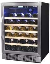 NewAir 52 Bottle Wine Cooler - Stainless Steel AWR-250SB