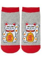 Forever 21 FOREVER 21+ Lucky Cat Ankle Socks
