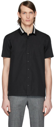 Neil Barrett Black Rib Neck Shirt