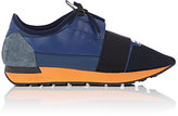 "Balenciaga Men's ""Race Runner"" Sneakers-NAVY"