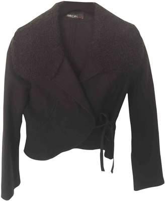Marc Cain Black Wool Jacket for Women