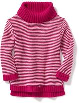 Old Navy Textured Turtleneck Sweater for Toddler Girls
