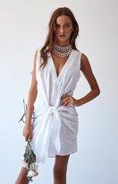 Beginning Boutique Samantha Dress White
