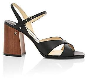 Jimmy Choo Women's Joya Leather Sandals