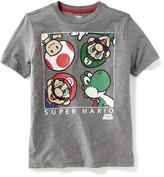 Old Navy Super Mario Brothers Graphic Tee for Boys
