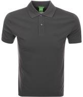 BOSS GREEN C Firenze Polo T Shirt Grey