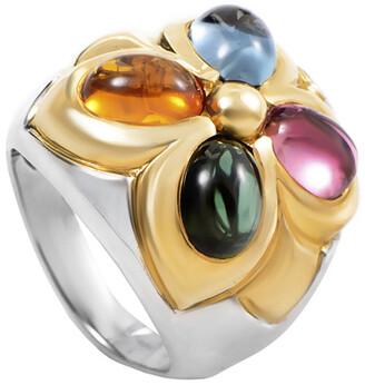 Heritage Bvlgari Bulgari 18K Two-Tone Gemstone Ring