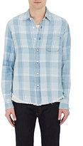 Simon Miller Men's Pismo Plaid Cotton Shirt