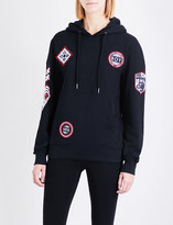 Boy London Patch cotton-jersey hoody