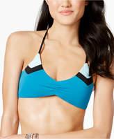 Bar III Colorblocked Bralette Bikini Top, Created for Macy's Women's Swimsuit