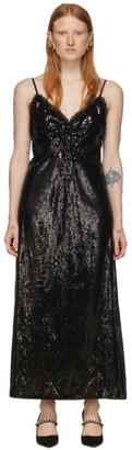 Miu Miu Black Sequinned Dress