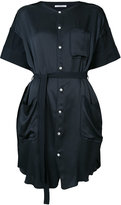 Julien David button up dress - women - Silk/Cotton - M