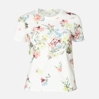 Ted Baker Women's Lileeyy Pergola Branded T-Shirt