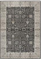 Panache Rizzy Home Traditional Distressed Ornate III Geometric Rug