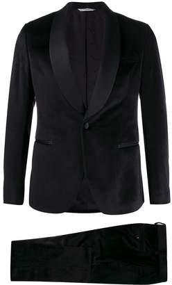 Manuel Ritz satin lapels velvet tuxedo