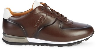 HUGO BOSS Parkour Leather Sneakers