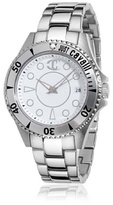 Just Cavalli Women's R7253141145 Abyss Silver/White Stainless Steel Watch