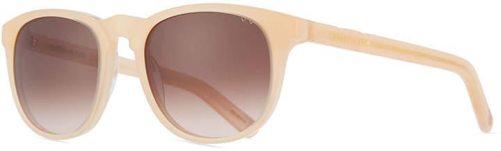 Pared Eyewear Rooftops & Raids Round Acetate Sunglasses